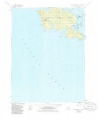 Topo map Dixon Entrance C-3 Alaska