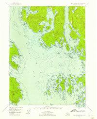 Topo map Dixon Entrance D-2 Alaska