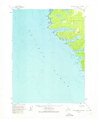Topo map Dixon Entrance D-4 Alaska