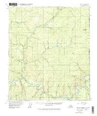Topo map Eagle B-1 Alaska