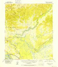 Topo map Fairbanks D-1 Alaska