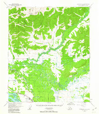 Topo map Fairbanks D-1 Alaska