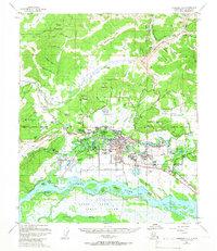 Topo map Fairbanks D-2 Alaska