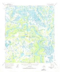 Topo map Fairbanks D-5 Alaska