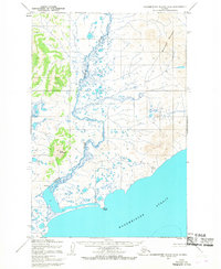 Topo map Hagemeister Island D-4 Alaska