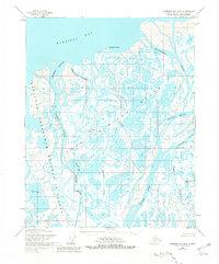 Topo map Harrison Bay B-2 Alaska