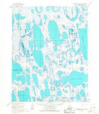 Topo map Harrison Bay C-5 Alaska