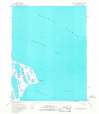 Topo map Harrison Bay D-4 Alaska