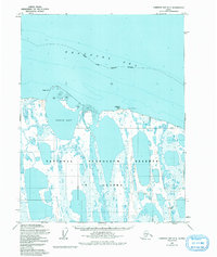 Topo map Harrison Bay D-5 Alaska
