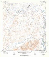 Topo map Healy A-2 Alaska