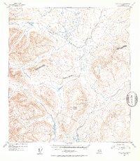 Topo map Healy A-3 Alaska