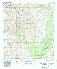 Topo map Healy A-6 Alaska