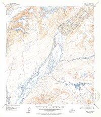 Topo map Healy B-1 Alaska