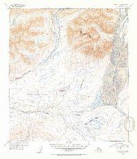 Topo map Healy B-2 Alaska