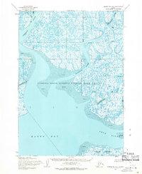 Topo map Hooper Bay A-1 Alaska