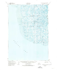 Topo map Hooper Bay A-2 Alaska