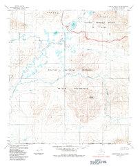 Topo map Howard Pass A-2 Alaska