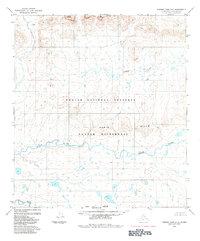 Topo map Howard Pass A-3 Alaska