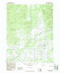 Topo map Hughes B-4 Alaska