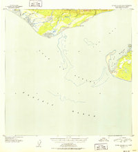 Topo map Icy Bay D-2 and D-3 Alaska