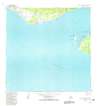 Topo map Icy Bay D-2 and D-3 Alaska