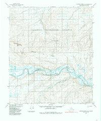 Topo map Ikpikpuk River A-3 Alaska