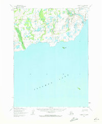Topo map Iliamna C-6 Alaska
