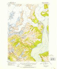 Topo map Juneau B-1 Alaska