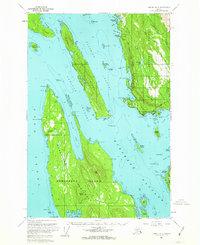 Topo map Juneau B-3 Alaska