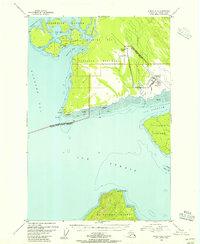 Topo map Juneau B-6 Alaska