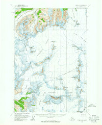 Topo map Juneau C-2 Alaska