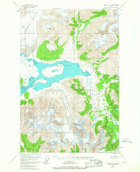 Topo map Juneau D-6 Alaska