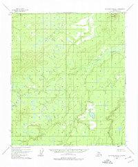 Topo map Kantishna River C-3 Alaska