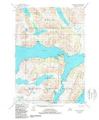 Topo map Karluk A-1 Alaska