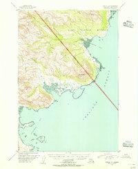 Topo map Karluk D-4 Alaska