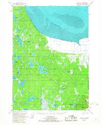 Topo map Kenai D-1 Alaska