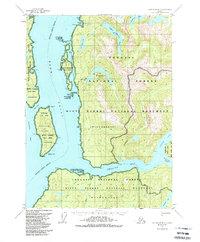 Alaska Topo Map Ketchikan B-3