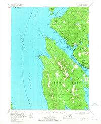 Topo map Ketchikan B-6 Alaska
