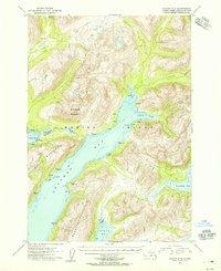 Topo map Kodiak A-6 Alaska