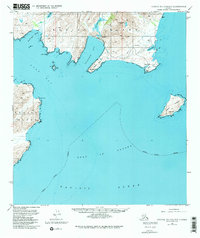 Topo map Kodiak B-1 and B-2 Alaska