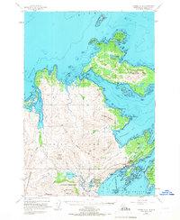 Topo map Kodiak D-2 Alaska