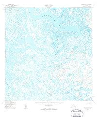 Topo map Kwiguk B-6 Alaska