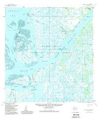 Topo map Kwiguk C-6 Alaska