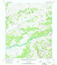 Topo map Livengood A-2 Alaska