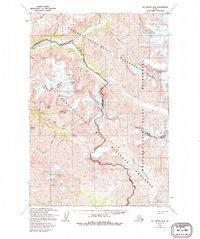 Topo map McCarthy B-4 Alaska