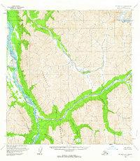 Topo map McGrath B-1 Alaska