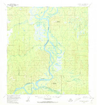Topo map McGrath C-6 Alaska