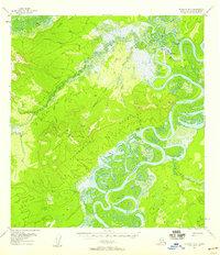 Topo map McGrath D-6 Alaska