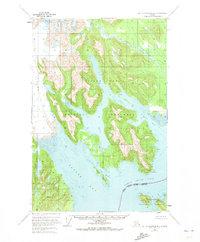 Topo map Mount Fairweather B-2 Alaska
