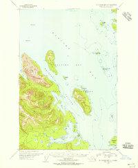 Topo map Mount Fairweather C-1 Alaska